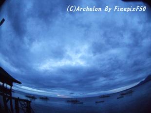 曇天の始まり・・。