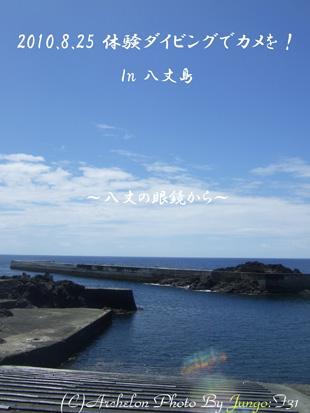 八丈島で体験ダイビング